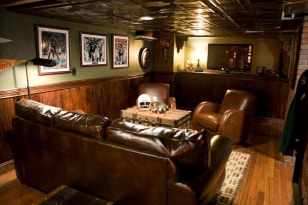 Image: Irish pub man cave