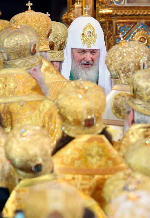 Image: Enthronement of Patriarch Kirill of Moscow and All Russia