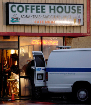 Image: California coffee house shooting