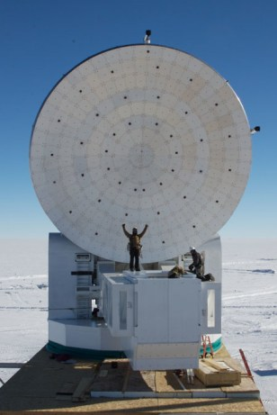 Image: South Pole Telescope