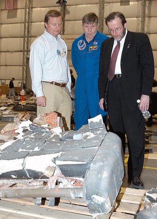 NASA Investigators Piece Together Debris From Shuttle Columbia