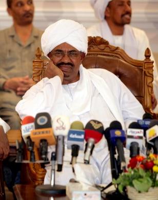 Image: Sudanese President Omar Hassan Al-Bashir