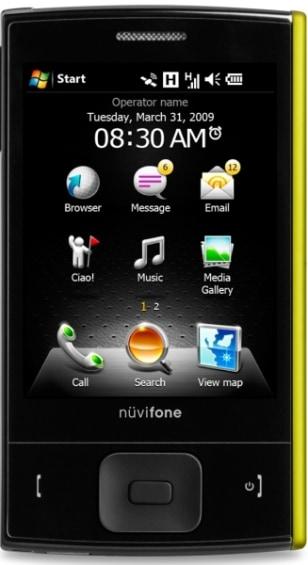 Image: Garmin-Asus nuvifone M20