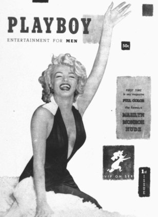 Image: Marilyn Monroe on Playboy