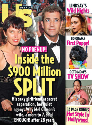 Image: Mel Gibson Us Weekly cover