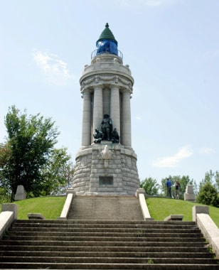 Image: Champlain Memorial Lighthouse