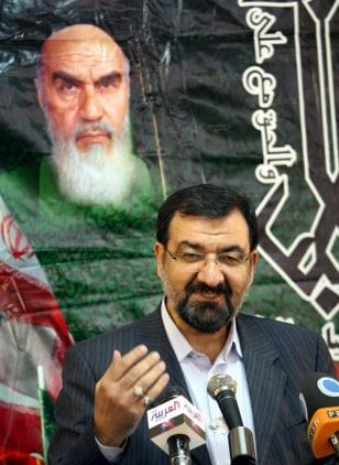 Image: Mohsen Rezaei announces his candidacy