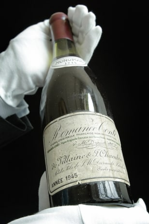Image: Vintage French wine