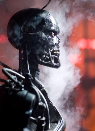 Image: Terminator robot