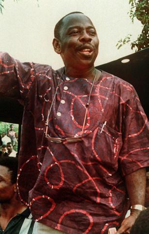 Image: Nigerianactivist Ken Saro-Wiwa