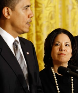 Obama introduces Nancy-Ann DeParle
