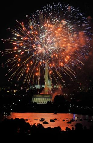 Image: Fireworks in Washington