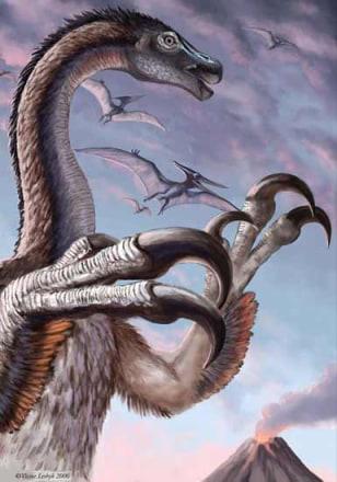 Image: sickle claw dinosaur
