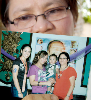 Image: Teresita Costelo, Angelyn Costelo, Anne Theresa Costelo, Patrick Sebastian Gabriel