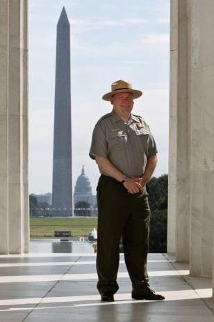 Image: National Mall Superintendent John Piltzecker