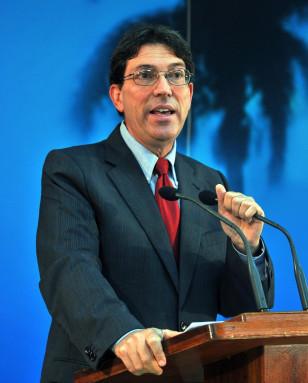 Image: Cuban chancellor Bruno Rodriguez