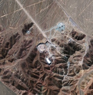 Image: Satellite photo of newly disclosed nuclear fuel facility near Qom