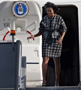 Image: Michelle Obama in Copenhagen