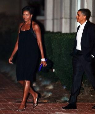 Image: Michelle Obama, Barack Obama