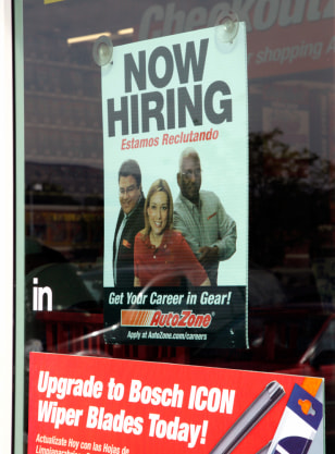 Image: A help wanted sign
