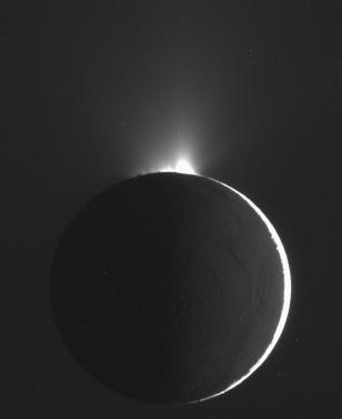 Image: Enceladus geysers