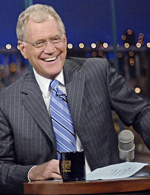 Image: David Letterman