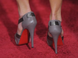 Image: Red carpet heels
