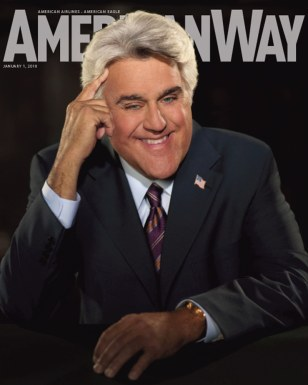 Image: Jay Leno on American Way magazine