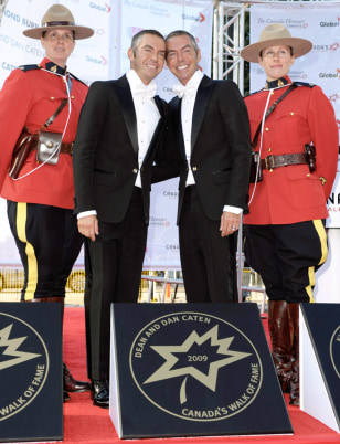 Image: Dean and Dan Caten at Canada's Walk of Fame