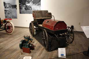 Image: Alaska's first car