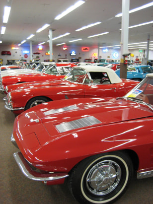 Image: Red Corvettes