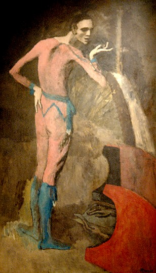 "Image: Picasso's ""The Actor"""