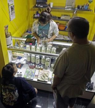 Image: Marijuana dispensary