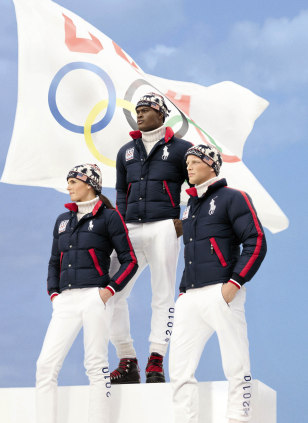 Image: Ralph Lauren athlete uniforms