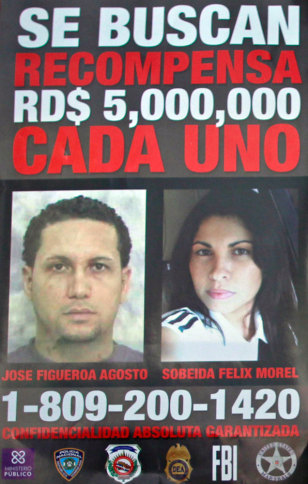 Image: Wanted poster of Jose Figueroa Agosto