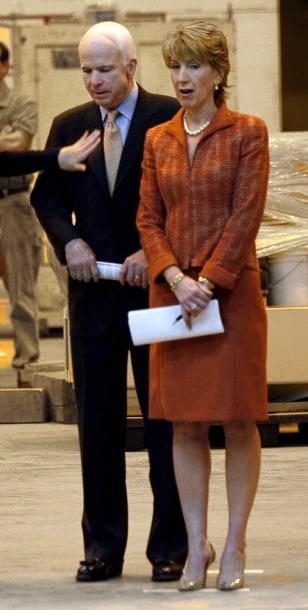 Image: John McCain, Carly Fiorina