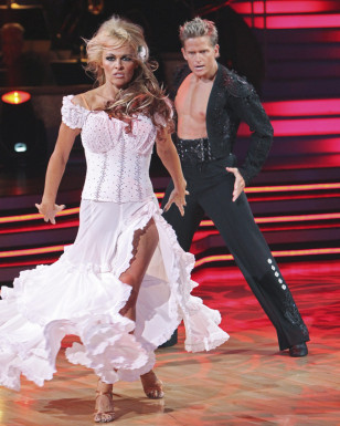 """Image: Pam  Anderson on """"Dancing With the Stars"""""""