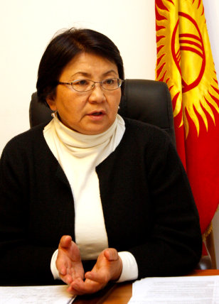 Image: Roza Otunbayeva