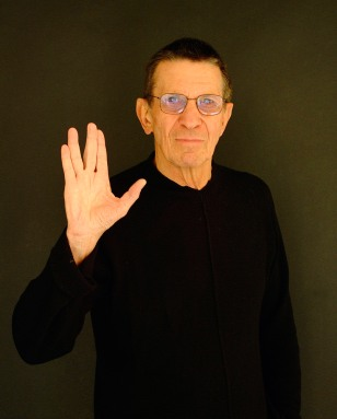 "Exclusive at home with ""Mr Spock"" actor Leonard Nimoy"