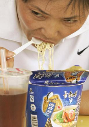 Image: Instant noodles