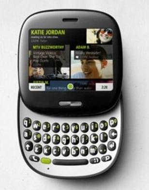 Image: Microsoft's Kin One phone