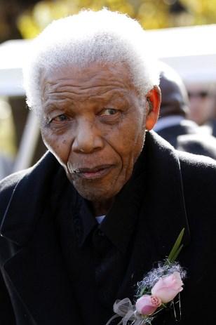 Image: Former South African President Nelson Mandela