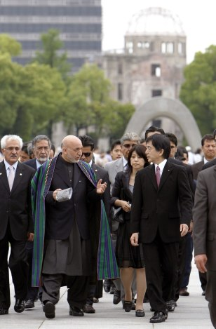 Image: Hamid Karzai in Japan