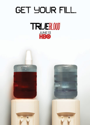 Image:  True Blood promo poster