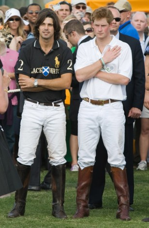 Photo of Nacho Figueras & his friend Royalty  Prince Harry -