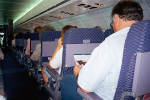 Image: plane interior
