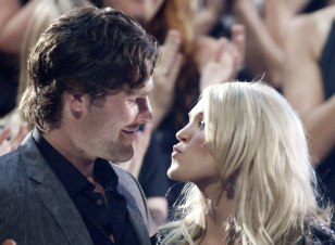 Image: Carrie Underwood, Mike Fisher