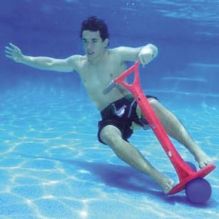 Image: Underwater Pogo Stick
