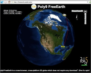 Image: Poly9 FreeEarth screenshot