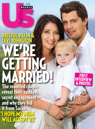 Image: Bristol Palin and Levi Johnston on cover of Us Weekly